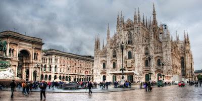 Kota Milan, Italia