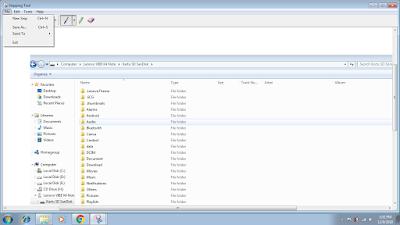 Simpan hasilnya File Save As