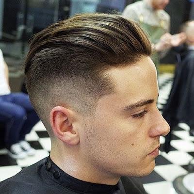 model rambut Undercut