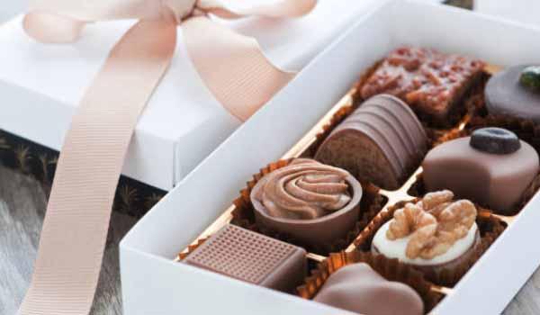 Kado Valentine coklat